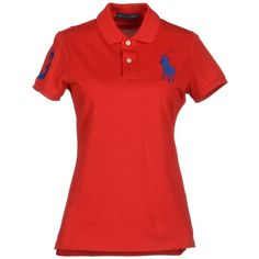 RALPH LAUREN Polo shirt ($95) ❤ liked on Polyvore