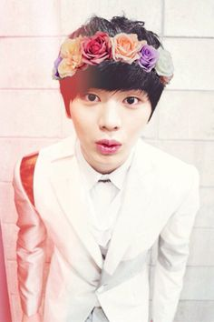 Flower boy Yook Sungjae of btob Yongin, Korean K Pop, Korean Star, Sungjae Btob, Minhyuk, Vixx, Shinee, Btob Members, Korean Picture