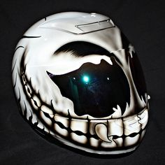 Custom motorcycle helmet