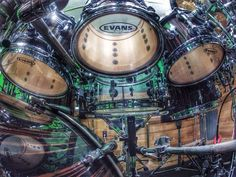 Evans Drumheads - Awesome Pic!