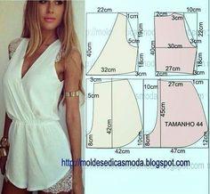 Cute summer blouse pattern