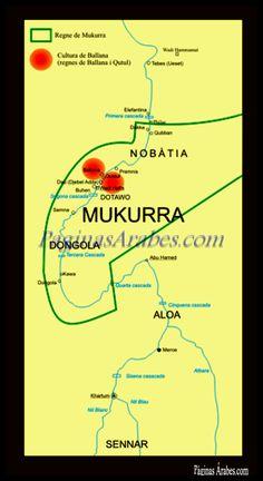 Makuria, fue un reino cristiano situado en lo que hoy es el norte de Sudán y sur de Egipto, situado alrededor del cauce del Nilo
