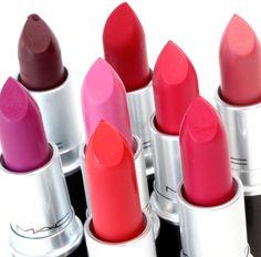 The MAC Retro Matte Lipsticks in Action