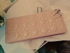 Baby pink ♥♥♥  Dior clutch bag Chain bag