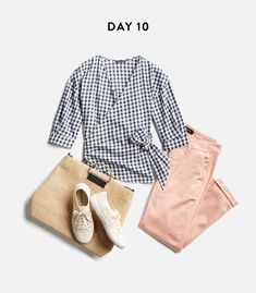 cute work appropriate shirt but also for other occasions. Love the pattern/color combo of this outfit too.