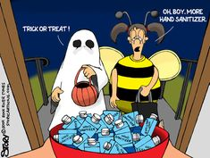 Halloween at the Athletic Trainer's house