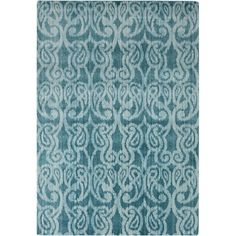 You'll love the Aberdine Teal/Light Gray IkatArea Rug at Wayfair - Great Deals on all Décor products with Free Shipping on most stuff, even the big stuff.