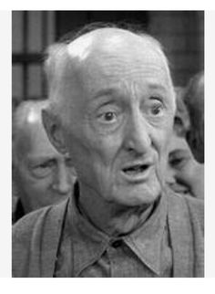 """Burton Hill """"Burt"""" Mustin (2/8/1884 - 1/28/1977. 25 year acting career beginning at the age of 67.  Acted in 39 TV shows and a multitude of movies.  My memories of him are from Leave it to Beaver, Andy Griffith and Date with the Angels. Great Actor"""