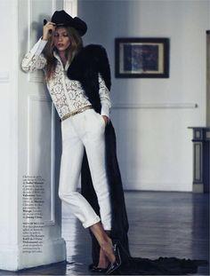 tres en lujo: masha novoselova by xavi gordo for elle spain january 2013 | visual optimism; fashion editorials, shows, campaigns & more!
