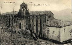 Galería de imágenes del archivo municipal - Ayuntamiento de Oviedo Pre Romanesque, Sense Of Place, Art And Architecture, Taj Mahal, Cathedral, Building, Travel, Painting, Vintage