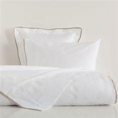 Linen Ribbon Percale Cotton Bed Linen - Bed Linen - Bedroom | Zara Home Polska / Poland