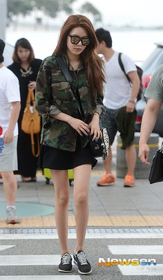 [2014.06.05] Girls' Generation's Sooyoung at the Incheon International Airport