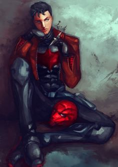 red hood by bliivet on DeviantArt