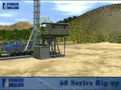 Modern Land Drilling Rig Oil and Gas by Pioneer Drilling.
