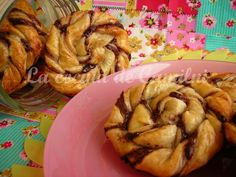 La cocina de Camilni: Enrolladitos de hojaldre y nutella