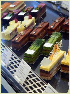 Sadaharu Aoki... amazing Japanese pastries in Paris