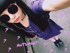 秋っぽい☺️⤴︎ #RunasFashion