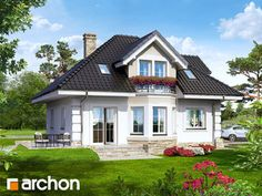 Bungalow House Plans, Dream House Plans, Modern House Plans, Small House Plans, Modern House Design, H Design, Design Case, Exterior House Colors, Interior Exterior