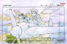 "ghibli-collector: "" 宮崎 駿 Hayao Miyazaki's Feature Film Layouts Nausicaa (1984) - The Wind Rises (2013) """