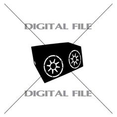 Car Subwoofer Speaker Box Vector Images by GuysAfterConception