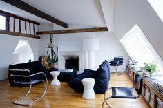 living room // books