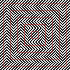 Seeing isnt believing: Mind-bending optical illusions | Fox News - Look at the red squares. Are they crooked?