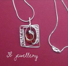 #honey and #translucent #3bjewellery #wirewrapping #beginner