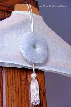 hanger with lavender