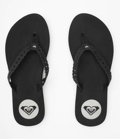 Roxy flip flops.....great name brand that will last and last and last...