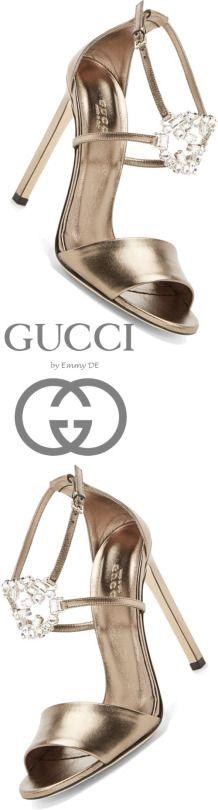 тяανєℓ & ƒαѕнιση ℓσνєя ву Ɛмму ƊƐ * Gucci GG Logo Ankle Strap Sandal