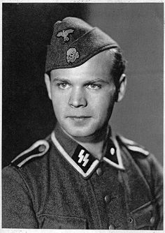German SS Totenkopf (the death head emblem on the piss cutter cap)