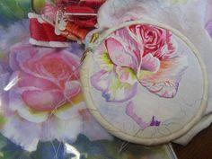 Catherine Laurençon Meilleur Ouvrier de France 2011 embroidery colors - needle painting