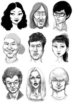 Faces Sketch - 2
