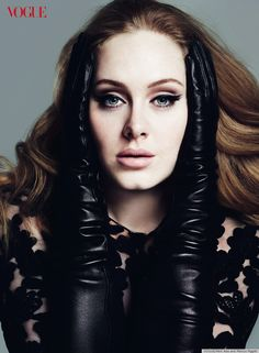 Adele's Vogue cover & photos! http://huff.to/yeG8pP