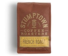 Stumptown Coffee Roasters French Roast Whole Bean Organic Coffee, 12 Ounce Bag, Flavor Notes of Clove and Bittersweet Chocolate - Food Coffee Tasting, Coffee Drinks, Espresso Coffee, Coffee Love, Best Organic Coffee, Ground Coffee Beans, Fresh Roasted Coffee, Coffee Health Benefits, Dark Roast