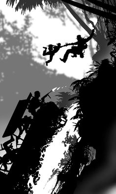INDIANA JONES Silhouette Art.