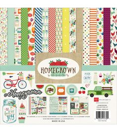 Echo Park - Homegrown 12x12 Collection Kit