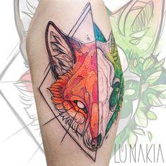 Lunakia Tattoo (@lunakia_tattoo) • Instagram-Fotos und -Videos Watercolor Tattoo, Tattoos, Videos, Instagram, Tatuajes, Tattoo, Temp Tattoo, Tattos, Tattoo Designs