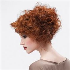 Curly Crop Cut and Color from Pivot Point International