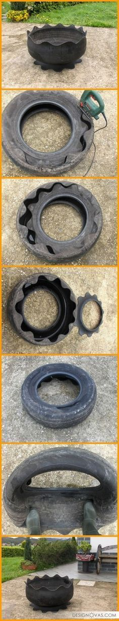 50+ Ways To Reuse Old Tires |  #tyres #used Cool!