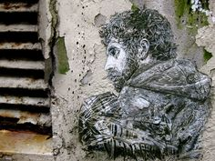 (Christian Guémy aka C215 Bergen, Andre The Giant, He Is Able, Street Artists, Urban Art, Contemporary Art, Graffiti, Christian, Statue