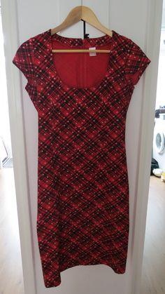 Retro jaren '40 jurk van het label 'Pussy deluxe'.