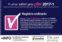 @Escolmeeduco ¡Recuerda que hasta el 15 de Marzo tienes plazo para realizar el Registro Ordinario!