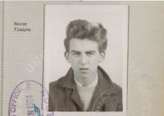 """worshipinginthechurchofgeorge: """" beatlesmut: """" Actually no my favourite picture of George is that teenage passport photo of his. You know the one where he looks like he's about to stab the..."""