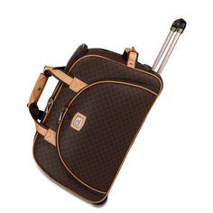 Rioni 21-inch Rolling Fashion Duffel Bag