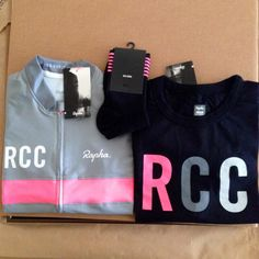 More RCC gear just arrived in time for the weekend. #Cycling #Rapha #RCCLAX #RCC