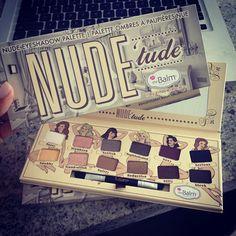 The Balm's NUDE 'tude palette ... love!