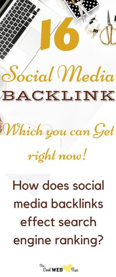 Backlinks building from social media marketing is a good way to drive traffic to website. | social media strategy http://www.coolwebfun.com/social-media-backlinks-search-engine-rankings/