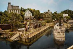 model railroad waterfront | Reply author: desertdrover