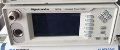 Giga-tronics 8651A Universal Power Meter Tested